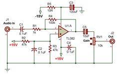Electronic Schematics, Electronic Art, Diy Amplifier, Circuit Diagram, Hifi Audio, Electronics Projects, Thing 1, Arduino, Cool Photos