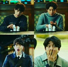 Goblin:The Lonely And Great God\Gong Yoo And Lee Dong Wook-Goblin And Grim Reaper