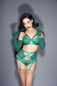 Dita Shot by Shannon Brooke Dita Von Teese, Nice Tops, Bikinis, Swimwear, Lingerie, Actresses, Model, Nylons, Fashion