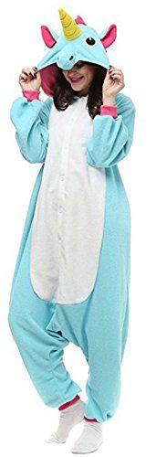 Renee Adulte Unisexe Anime Animal Costume Cosplay Combinaison Pyjama Outfit Nuit Vetements Onesie Fleece Halloween Costume Soiree de…