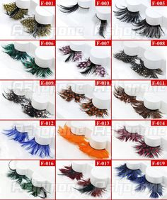 there's the right color. Feather Eyelashes, Fake Lashes, Casual Formal Dresses, Makeup Tips, Eyeliner, Nail Art, Jewelry Ideas, Hair, Color