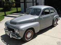 1957 Volvo PV 444 ~ My parents had one like this expect it was navy blue ~ Loved this car ~ Wish I had it now