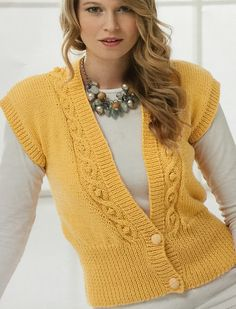 Ravelry: Waistcoat 8520 pattern by Stylecraft Yarns