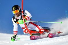 World Ski Championships Marcel Hirsher wins slalom gold - Dave Ryding misses out Alpine Skiing, Snow Skiing, World Cup Skiing, Ski Racing, Cross Country Skiing, Extreme Sports, Winter Scenes, World Championship, Display