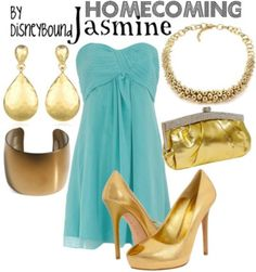 AANNDD Jasmine! Disney inspired outfit.