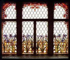 Magyar szecessziós ablaküvegek – Róth Miksa - Íriszes ablak