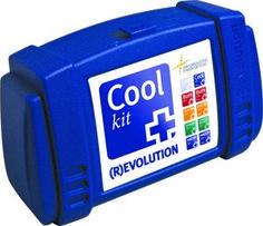 Cool kit, met alle middelen erin om een slactoffer met een kneuzing en of verstuiking te kunnen helpen