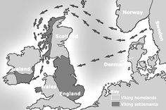Where did the Vikings come from? A fill-in-the-blanks worksheet with map which can be coloured to explain which countries the Vikings came from.