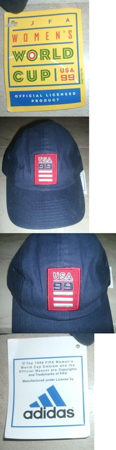 Hats and Headwear 123876: 1999 Adidas Shoe Co Usa Soccer Fifa Women Jersey-Clr Hat S M L Xl 8 7 World Cup -> BUY IT NOW ONLY: $34.5 on eBay!