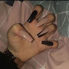 top awesome coffin nails design 2019 you must try 4 ~ thereds.me top awesome coffin nails design 2019 you must try 4 ~ thereds. Summer Acrylic Nails, Best Acrylic Nails, Acrylic Nail Designs, Long Nail Designs, Coffin Acrylic Nails, Halloween Acrylic Nails, Black Acrylic Nails, Black Nail Designs, Summer Nails