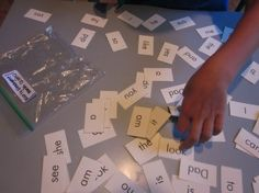 High frequency word lists for go fish