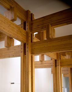 Town hall, Yusuhara, 2006 by Kengo Kuma. Great woodwork joints.