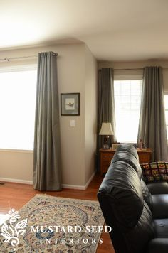 Shortcut to hemming curtains