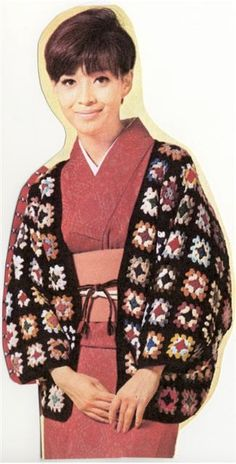 ☆簡単なモチーフ繋ぎ : ニットルームpiko 編み図あり