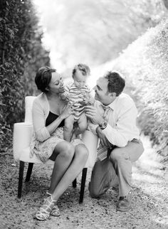 Tamera Mowry and Adam Housley Family Portrait