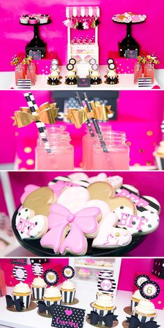 Teen party ideas - Kate spade inspired party - birthday party