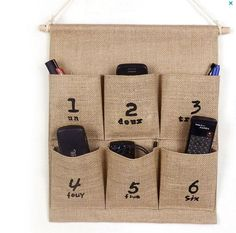 Home decor Eco Decorative wall jute Storage by PillowCoverStyles, $12.50
