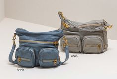 Liebeskind Vintage Shoulder Bags, Anny in soft blue and Ania in new flint http://usa.liebeskind-berlin.com/Ania/216%2e430%2e94%2e8549,en_US,pd.html?sku=216%2e430%2e94%2e8549%2e8104%2e1&ref=lp&q=ania&is=true  #spring2015 #liebeskindus #liebeskind #berlin #leather #bag