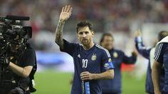 Lionel Messi en la Copa América disputada en Estados Unidos(EFE)