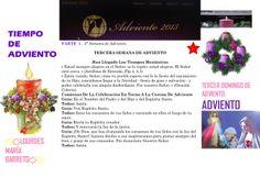TIEMPO DE ADVIENTO. ORACION TERCER DOMINGO DE ADVIENTO. PARTE 1 DOMINGO 15 DE DICIEMBRE DEL 2013. *♥ ♥LOURDES MARIA BARRETO♥ ♥*