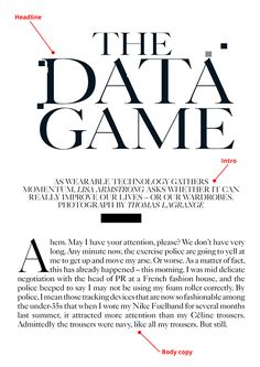 How to design a fashion magazine like Vogue