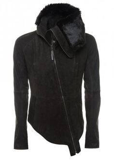 Delusion Sotara Leather Jacket in Black