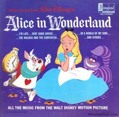 Disney: All the Songs from Alice in Wonderland - LP (1208)