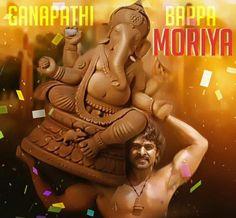#Lord #Ganesha as #Bahubali. #Buy your own #Ecofriendly #idols at http://buff.ly/1QcAos3   #GaneshChaturthi #Prabhas #actor #bollywood #lordganesh