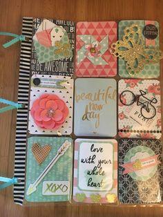 Atc Cards, Paper Cards, Journal Cards, Scrapbook Paper Crafts, Scrapbook Cards, Pocket Craft, Cute Scrapbooks, Pocket Envelopes, Art Trading Cards