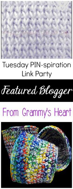 Featured Blogger - From Grammy's Heart | Tuesday PIN-spiration Link Party | www.thestitchinmommy.com