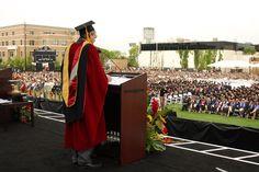 Commencement at Chapman University.