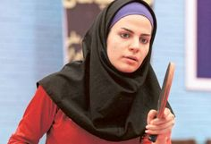 Neda Shahsavari is Iran's first female contender at the Olympic's table tennis. Olympic Table Tennis, Iran, Olympics, Female, Ambition, Watch, Women, Clock, Women's