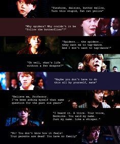 gotta love Ron Weasley's gumption.
