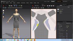 Thiết kế Váy dự tiệc trên phần mềm thời trang 3D tại Thời Trang Thuỷ