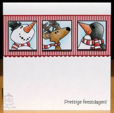 Tiddly Inks christmas card
