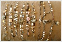 jewelry | bracelets and necklaces for Glitter Market | Holly Abston | Flickr