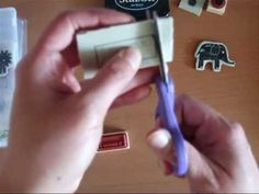Best Video-Wood Mount Stamp Sets to Clear Mount Conversion using EZ Mount