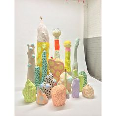 Adam Frezza and Terri Chiao: Ceramic Clay, Ceramic Pottery, Abstract Sculpture, Sculpture Art, Paper Plants, Motif Floral, Diy And Crafts, Arts And Crafts, Art Education