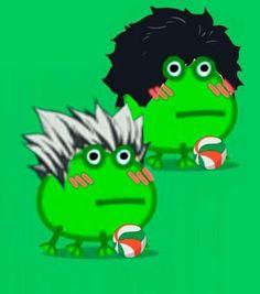 Anime Meme, Manga Anime, All Anime, Anime Art, Frog Pictures, Cute Profile Pictures, Frog Meme, Danganronpa Memes, Haikyuu Funny