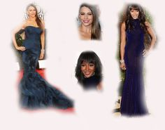 blue long dress, Sofia Vergara VS Naomi Campbell fashion diva who-wore-it-better celeb celebrity