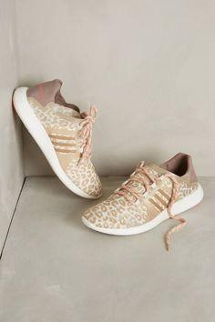 adidas by Stella McCartney Leopard Blush Sneakers #anthrofav