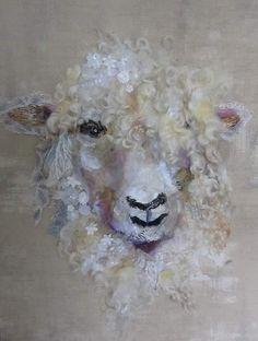 3D Sheeps// Schaf Quilling Kit Karen Marie Klip