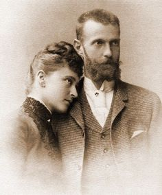 Grand Duchess Elizabeth and Grand Duke Sergei