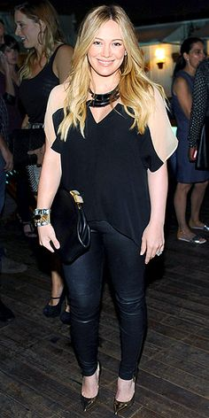 Hilary Duff in West Hollywood on August 26, 2012