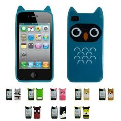Apple iPhone 4 CARTOON Thermoplastic Case Silicone Skin Case Cover