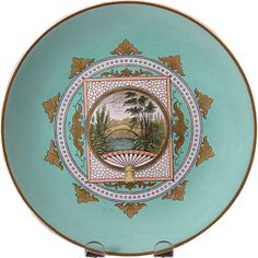 English Victorian Aesthetic Movement Plate - 1880s (2 available)