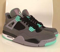f7fd2a8dcc9835 Air Jordan IV Glow Green (Fall 2013) Photos Popular Sneakers