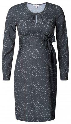 Dámské šaty pro těhotné s dlouhým rukávem ESPRIT MATERNITY - tmavě šedá 0beaa401c5e