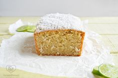 Coconut Lime Pound Cake- a perfect treat to serve for Easter!