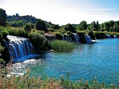 Places to see in ( Ruidera - Spain )  Ruidera is a municipality located in the province of Ciudad Real Castile-La Mancha Spain. Ruidera is located close to the Lagunas de Ruidera natural lakes. Located in the region of the Field of Montiel . Ruidera is known for its lagoons  which constitute the headwaters of the Guadiana River .  The concord between the Military Orders of Santiago and San Juan signed in Santa Maria del Rozalen on May 7 1237 left the delimited common mojonera between the…